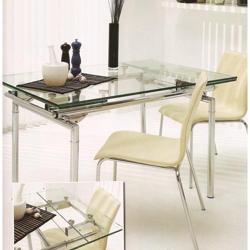 mesa de vidrio modelo miln