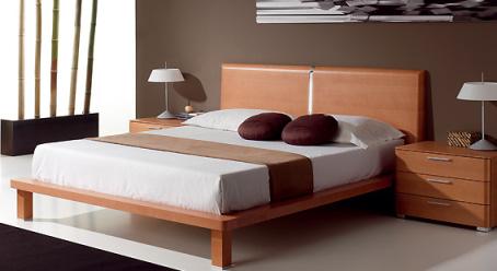 Muebles de dormitorio de estilo tradiciona y madera