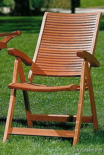 Sillones para exteriores for Sillones de patio de madera