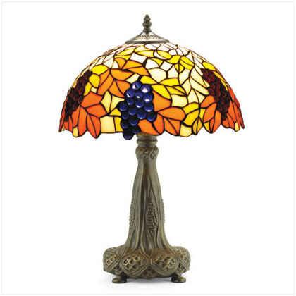 Lampara Tiffany de mesa