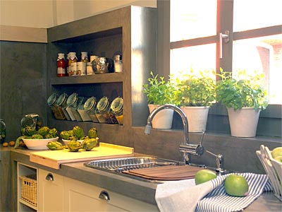 Cinco t picos estilos para decorar su cocina for Decoracion de gabinetes de cocina