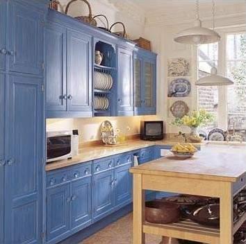 El color en la cocina
