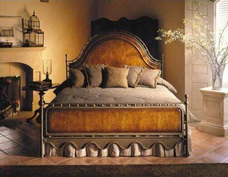 Dormitorio sensual y antiguo