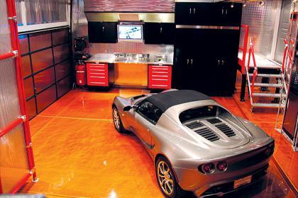 Decoración del garage