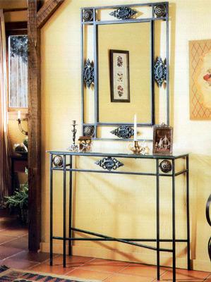 Decorar con muebles de hierro forjado for Muebles de jardin de hierro forjado