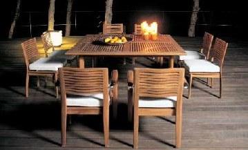 Los muebles para exteriores - Muebles portico ...
