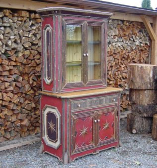 Los muebles r sticos sin terminar pueden despertar al for Muebles de television rusticos