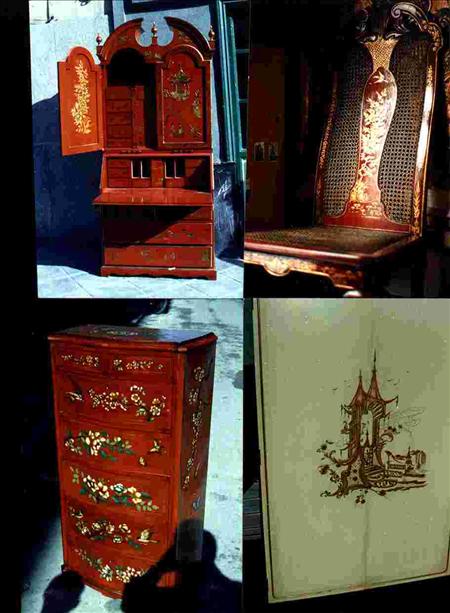 Variedades de muebles