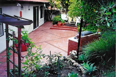 Decoracion del patio y el jardin