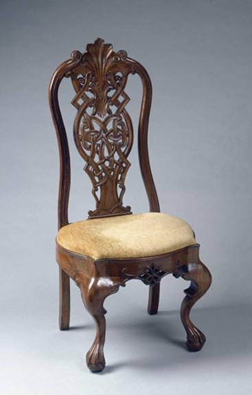 El estilo de muebles chippendale - Sillas chippendale ...