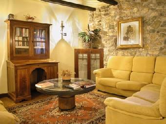 Decoraci n de estilo tradicional for Colores rusticos para interiores