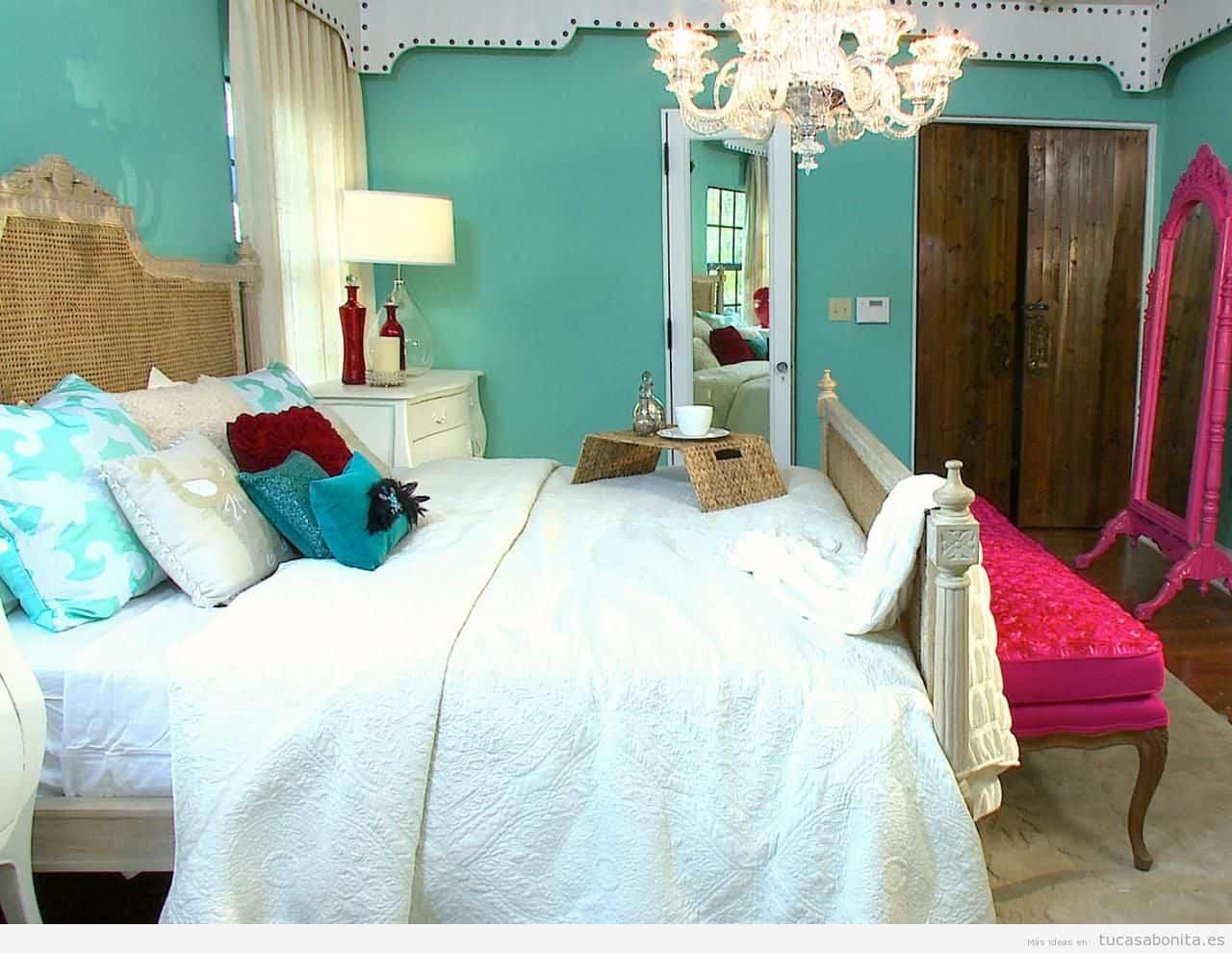 Combinando Dormitorios De Estilos Antiguos Y Modernos
