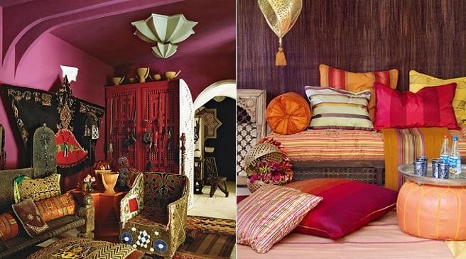 Estilo marroquí de interiores