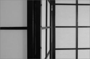 Biombo decorativo minimalista