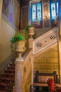 Escalera de estilo victoriano