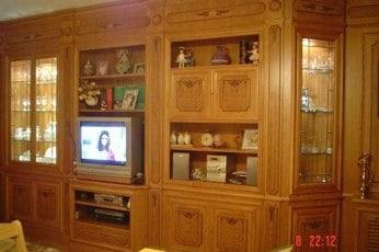 Los muebles de roble for Muebles de roble modernos