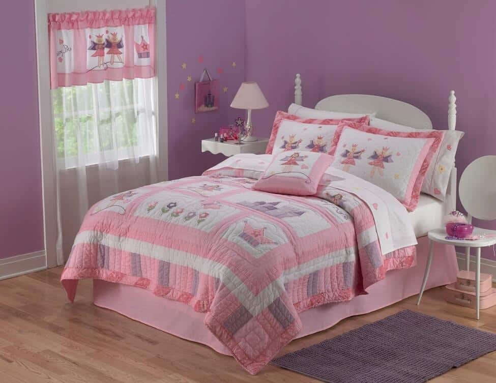 Pintura y decoraci n de dormitorios para ni as - Dormitorio de nina ...