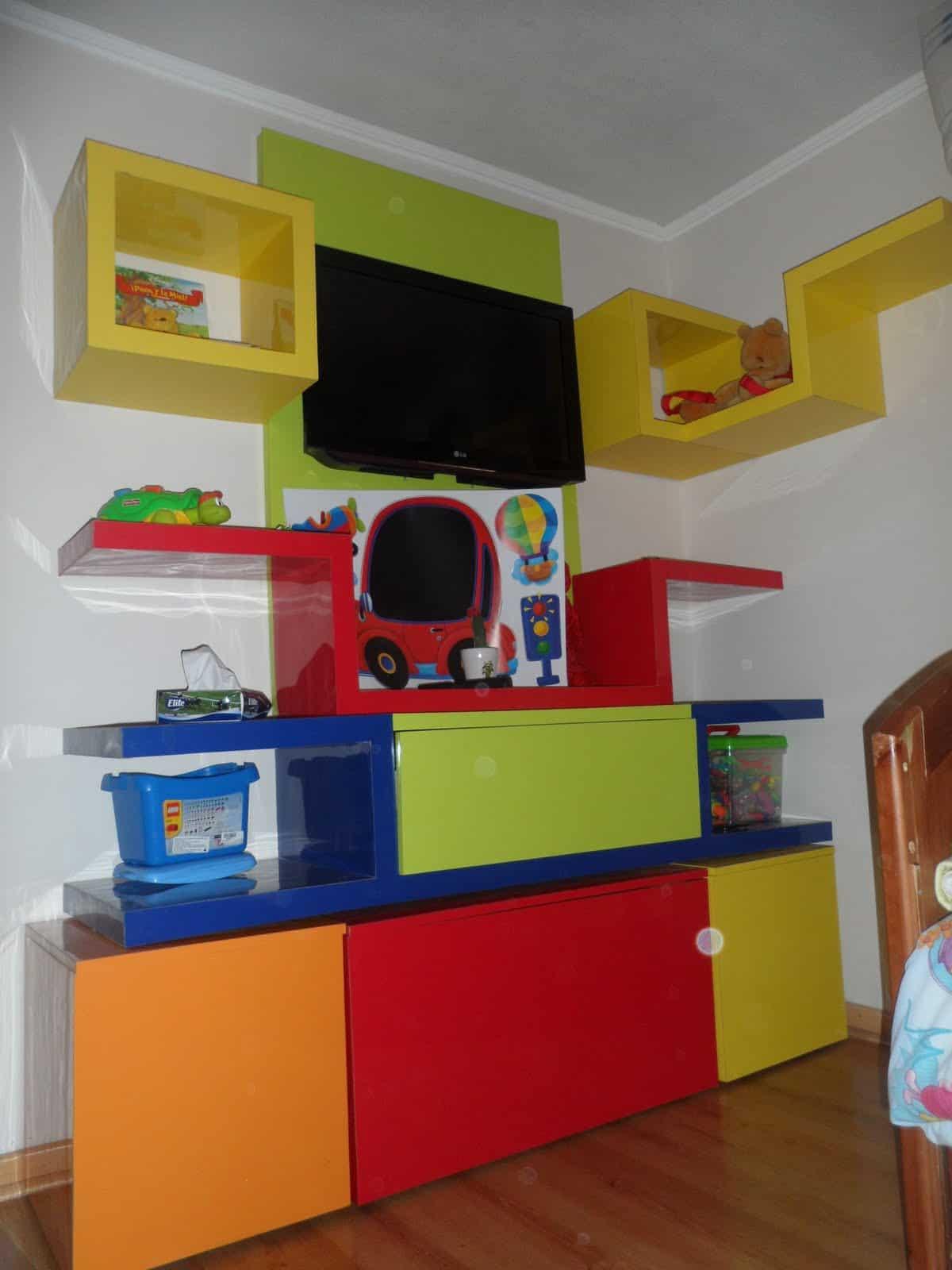 Decoraciones para que los niños crezcan - VisitaCasas.com