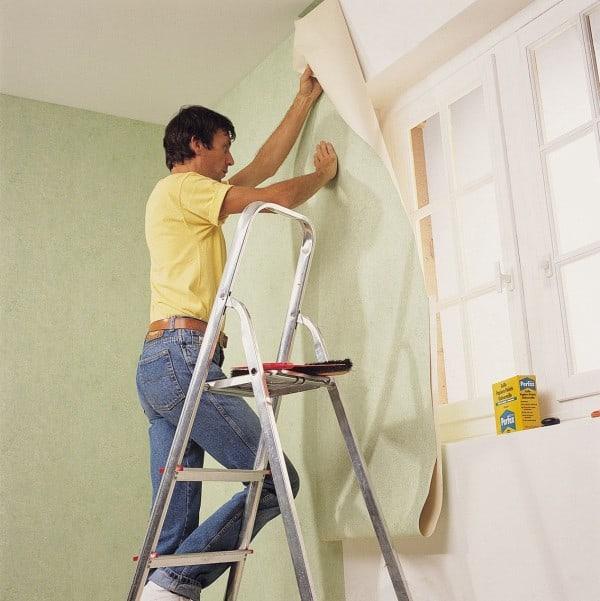 Opciones para recubrir una pared con empapelado - Como empapelar paredes ...