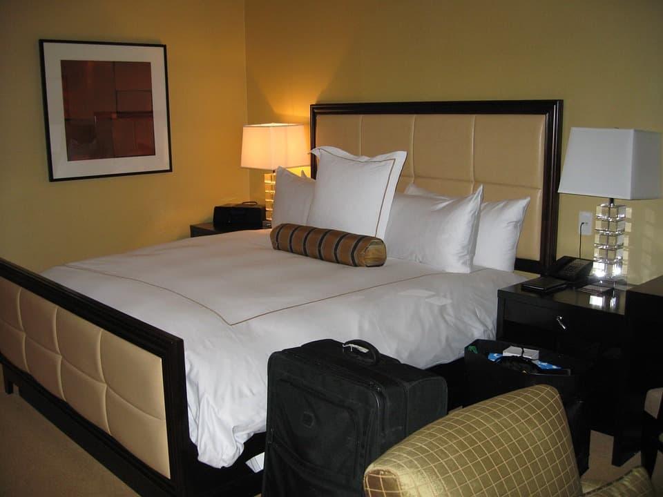 estilo retro del dormitorio