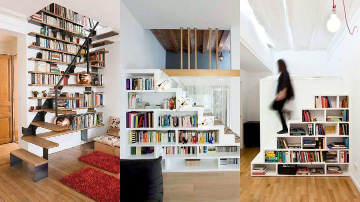 Elije entre estos 6 estilos de bibliotecas para la casa ...
