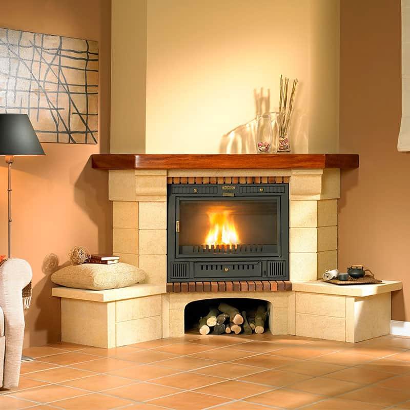 Ideas para decorar una chimenea al estilo campirano - Decorar una chimenea ...