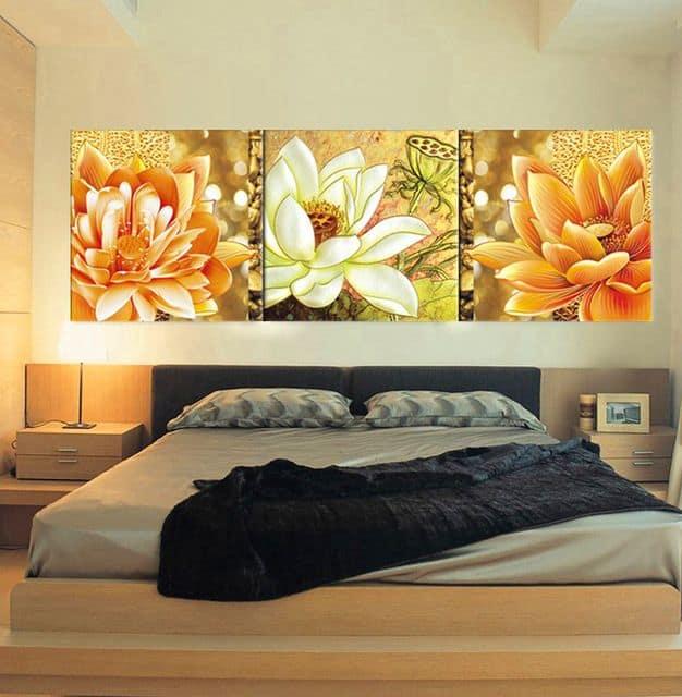Comprando cuadros de paisajes citadinos impresionistas - Cuadros para dormitorios modernos ...