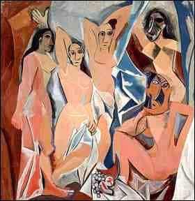 Pinturas del cubismo