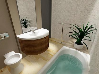 Esos detalles en el baño.