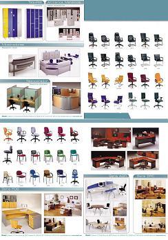Muebles para vestir su oficina.