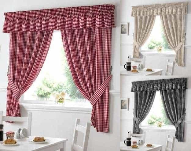 Tipos variedades y especies de cortinas para el hogar - Que cortinas poner en la cocina ...