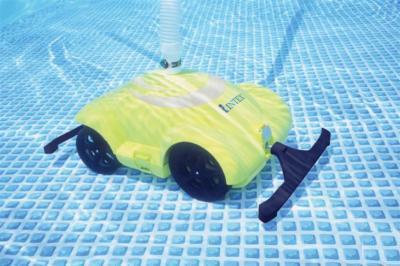 Limpiador automático de piscinas.