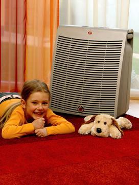 Purificador de aire para el hogar.