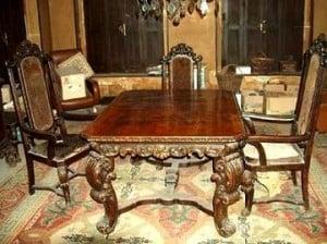 Muebles antiguos de estilo jacobino para el hogar - Muebles barrocos baratos ...