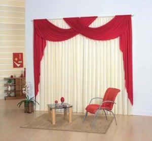 Instalación de cortinas.