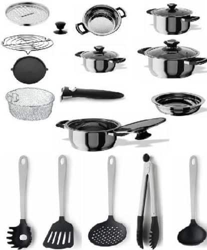 12 estrategias para renovar la cocina for Juego utensilios cocina