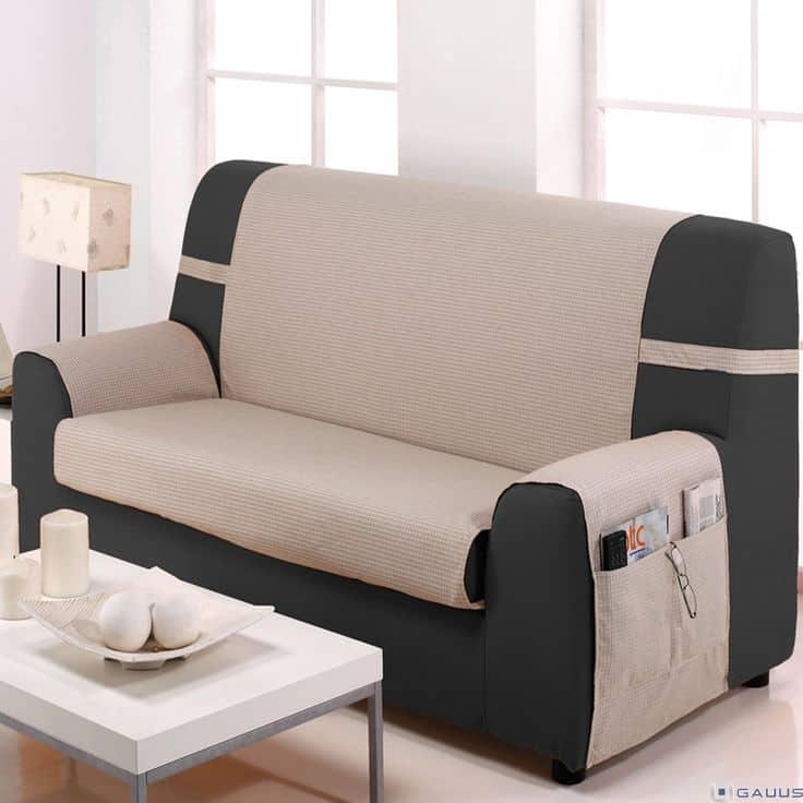 Fundas para el sofá: fácil y rápido cambio de imagen