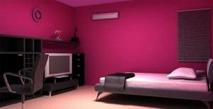 Colores en la decoración del hogar.