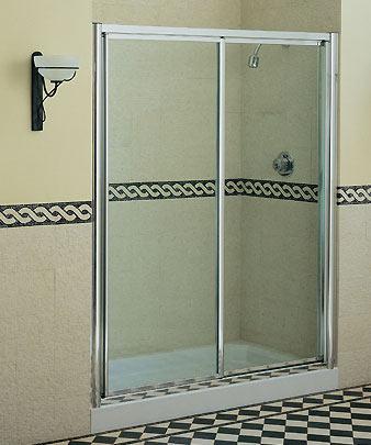 Vidrios para el ba o - Puerta para ducha ...