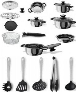 Accesorios y utensilios recomendados de cocina for Utensilios y accesorios de cocina