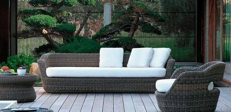 Muebles para exteriores reflejo del estilo y la comodidad de los