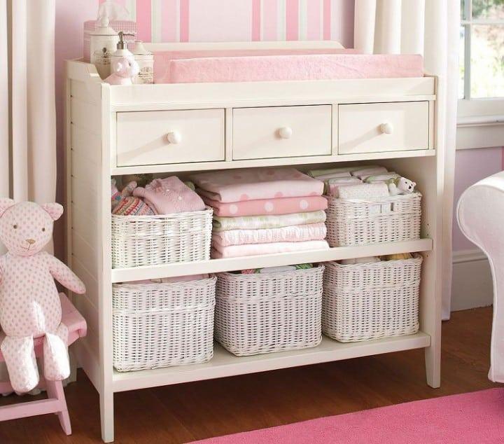 Muebles para bebés que cubrirán todas sus necesidades