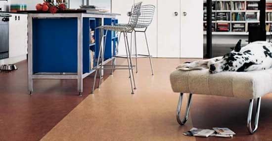 Eligiendo un piso de linóleo