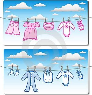 El lavado de la ropa del bebé