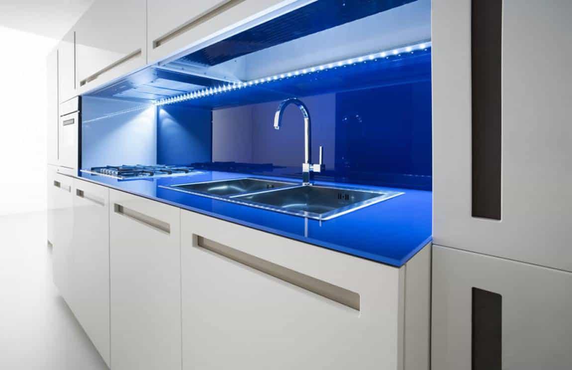 El acrílico es una alternativa para la mesada de su cocina ...