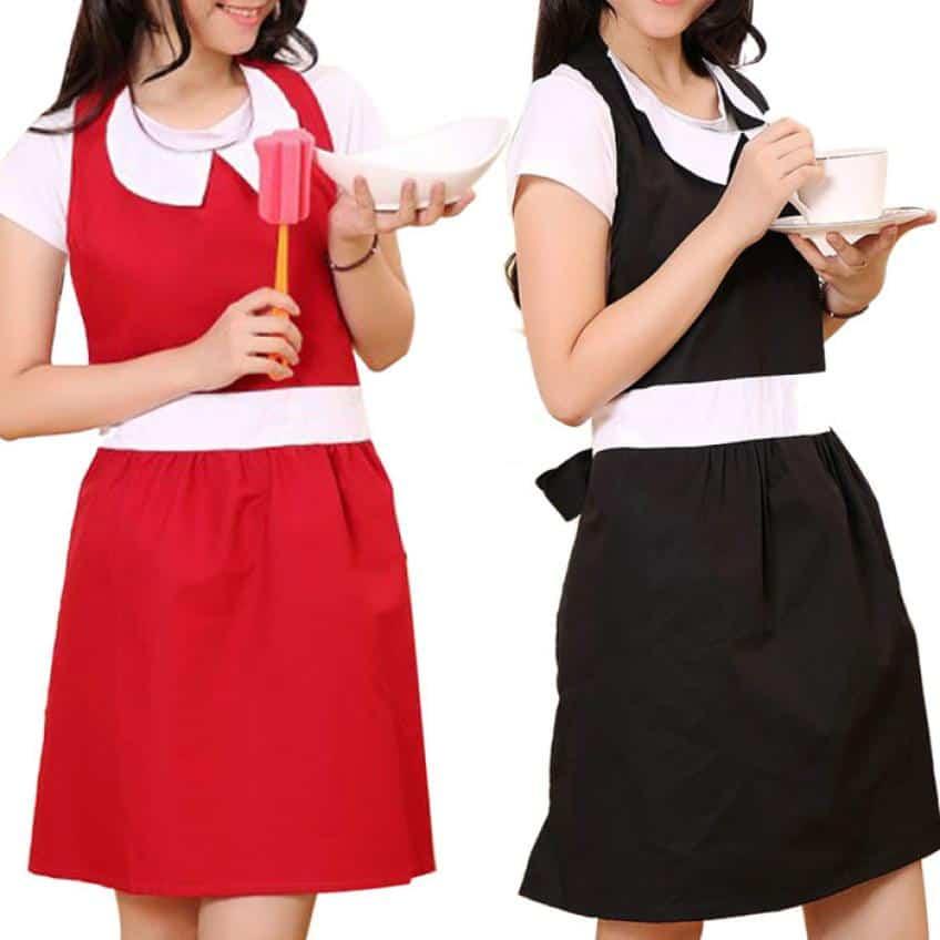 Delantales tips para elegir el accesorio necesario para la cocina - Modelos de delantales de cocina ...