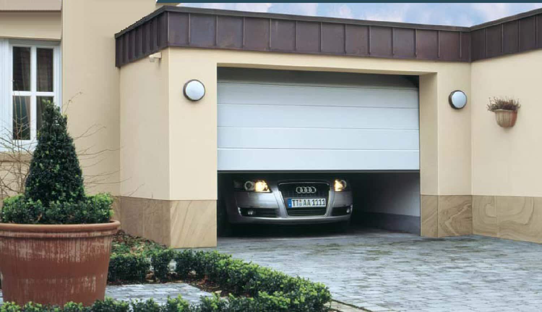 Precausiones de seguridad con la puerta autom tica del - Puertas automaticas para cocheras ...