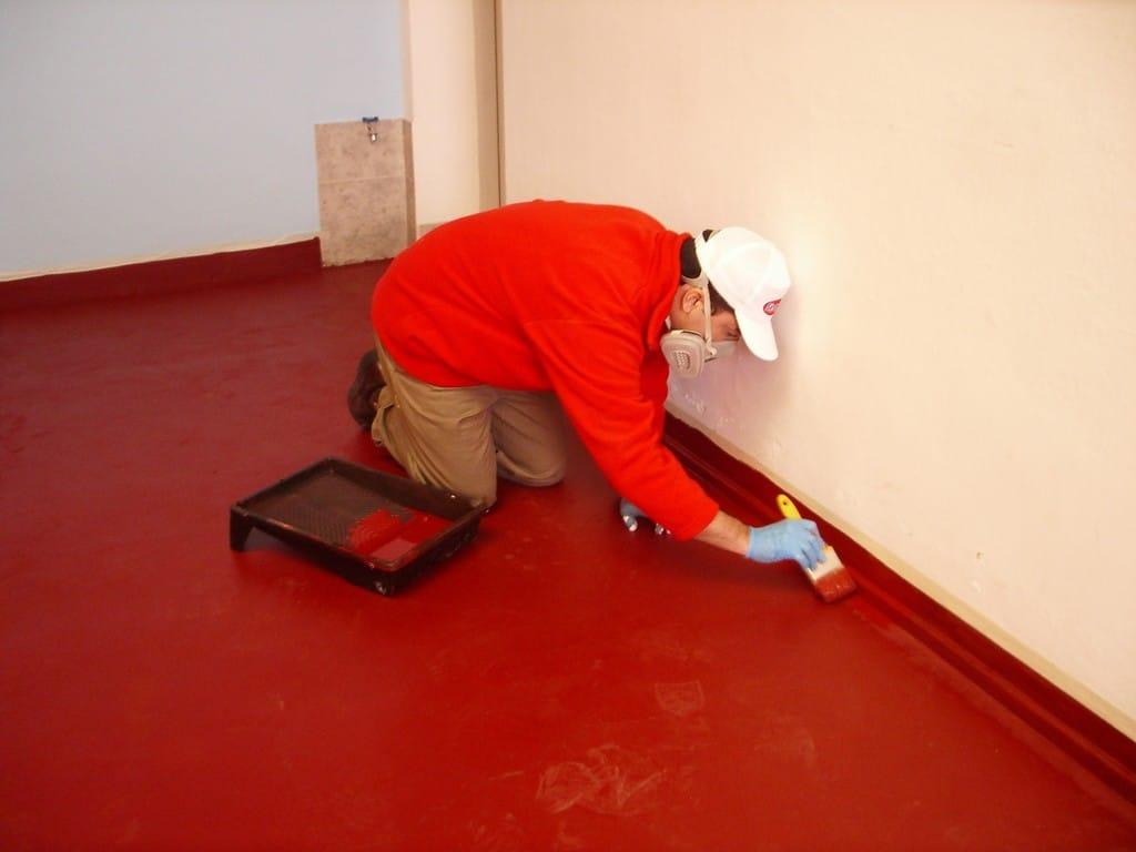 10 t cnicas f ciles para pintar sobre cemento - Como pintar las juntas del piso ...