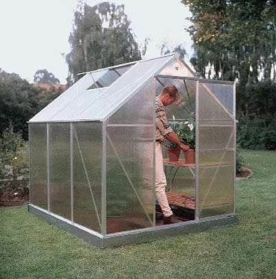 C mo construir un invernadero en casa - Invernadero casero terraza ...