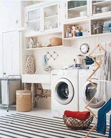 Impidiendo el da o del agua en el cuarto de lavander a for Decoracion de lavanderia